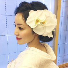 Wedding Kimono, Wedding Dresses, Wedding Preparation, Good Vibes Only, Bride Hairstyles, Pure White, Headpiece, Bridal Hair, Wedding Planning