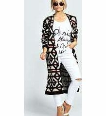 boohoo Lotti Longline Aztec Cardigan - multi azz24876 Knitwear gets knock-out this season with pretty pastel palettes - crop jumpers come in candy colours and shawls in sherbet shades. Wear cardigans and jumpers oversized and vintage- inspired with distr http://www.comparestoreprices.co.uk/womens-clothes/boohoo-lotti-longline-aztec-cardigan--multi-azz24876.asp