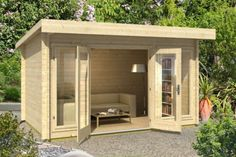 Amazing Shed Plans - Dorset log cabin, garden office, Log Cabins for sale, Free Delivery Now You Can Build ANY Shed In A Weekend Even If You've Zero Woodworking Experience! Start building amazing sheds the easier way with a collection of shed plans! Modern Log Cabins, Log Cabins For Sale, Garden Cabins, Garden Sheds, Summer House Garden, Summer Houses Uk, Double Vitrage, She Sheds, Garden Studio