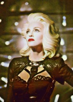 Colorized image from Girls Gone Wild video Madonna Albums, Madonna 80s, Best Female Artists, Real Queens, Cool Rocks, Music Icon, Hair Designs, Lady Gaga, My Idol