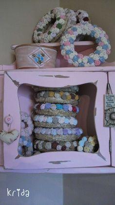 home Hanukkah, Wreaths, Country, Furniture, Home Decor, Decoration Home, Door Wreaths, Rural Area, Room Decor