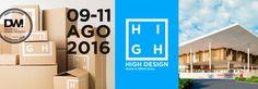 Feira High Design promete reunir as principais inovações e lançamentos em mobiliário de alto padrão, móveis planejados e autorais