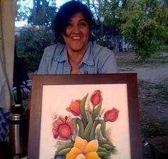 Amapolas y tulipanes Meidas 0.50cm x 0.50cm