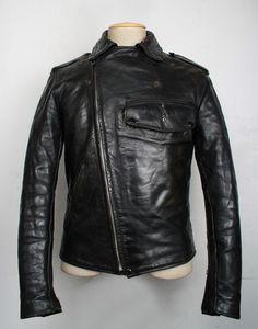 VINTAGE -- BUCO: PJ-27 1940s leather jacket