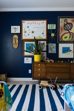 A Shared Space to Make Room for Baby- design addict mom