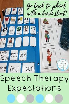 I have been using this system for years in speech therapy to address behavior expectations, knowledge of goals, positive language, and a guide to read before playing games. It's in black and white and color and works great for traveling therapists. Appropriate Behavior, Articulation Games, Social Stories, Going Back To School, New School Year, Behavior Management, Speech Therapy, Small Groups, Problem Solving