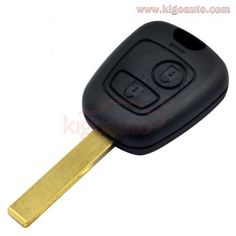 PEUGEOT Remote 3 Button Flip Key Shell Case Replacement 107 207