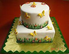 MuyAmeno.com: Tortas de Mariposas para Fiestas Infantiles, parte 1