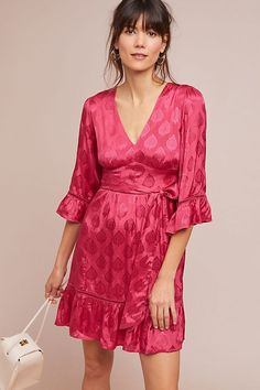 Christine Belted Dress. Anthropologie 770978947222