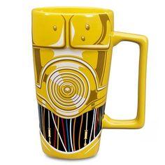 New Disney Star Wars C-3PO 16 oz. Mug Coffee New In Box