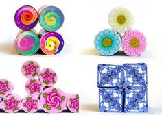 New to polymer clay and millefiori canes? here - 101 basics for beginners