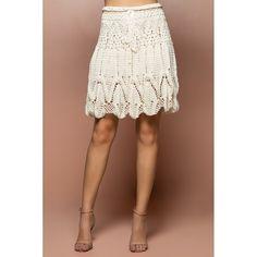 US$ 2,750.00 - Off Sienna Crochet Skirt - Vanessa Montoro USA - vanessamontorolojausa