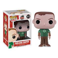 Funko Pop! Big Bang Theory Sheldon Green Lantern Shirt Vinyl Figure #KohlsDreamGifts