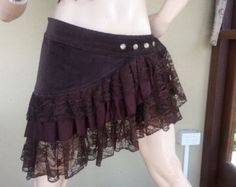 wrap bustle skirt belt festival steampunk burlesque bohemian gypsy hippy