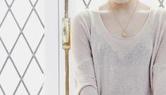 loungewear details, necklace, nude spring medblick