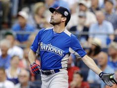 Jon Hamm plays ball in MLB all-star celebrity game  Could He Be Any Sexier?!  Oh yeah, he's a Cards Fan... and Don Draper!!