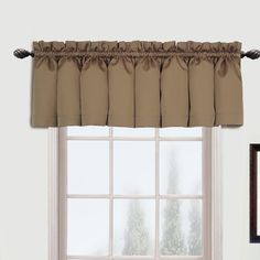 Susan Rod Pocket Tailored Curtain Valance