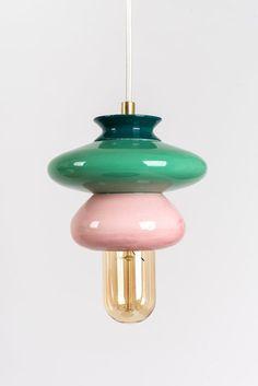 Ceiling Ceramic Lamp, Colorful Handmade Lampshade Design, Un… – Lighting Ideas Gouts Et Couleurs, Contemporary Light Fixtures, Contemporary Artwork, Cool Light Fixtures, Contemporary Chandelier, Hanging Lamp Shade, Small Lamp Shades, Ceiling Hanging, Ceiling Lamp