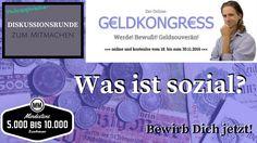 #Geldkongress #Diskussion #Gespräch #Debatte #Austausch #Redner #Speaker Was ist #sozial – Philosophische #Gesprächsrunde im Rahmen des #Online-Geldkongresses