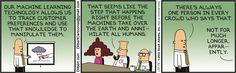 Dilbert - Machine Learning