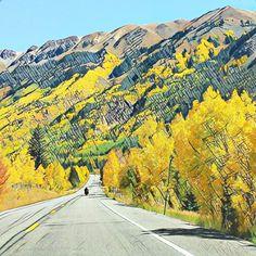 San Juan Skyway Fall Colorado