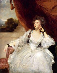 Joshua Reynolds, Portrait of Mrs. Stanhope