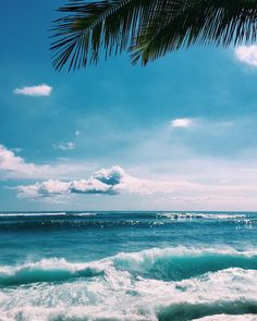 Tropical Island Adventures :: Escape to a Beach Paradise :: Soak in the Sun :: Palms + Ocean Air :: Discover more Island Life Inspiration No Wave, The Beach, Ocean Beach, Summer Beach, Ocean Waves, Ocean Photos, Beach Waves, Summer Sun, Ocean Pictures