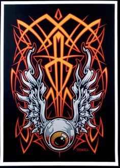 Pinstriping by Jeral Tidwell