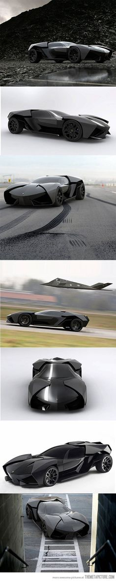 Lamborghini Ankonian: The Batmobile