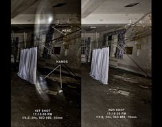 Ghost comparison?  Abandoned hospital; Marlboro, NJ  summer 2009