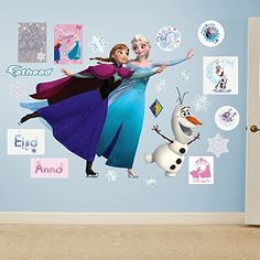 Fathead Disney FrozenIce Skating Collection Vinyl Decals >>> Visit the image link more details.