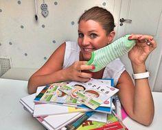 ¡Forra los libros con la ayuda de un calcetín!