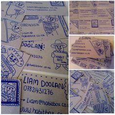 Hand-Made Business Cards