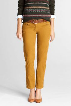 15a71d9c031ba Women s Fit 1 Slim Ankle Corduroy Pants from Lands  End.Old Navy Rock Star  Cords fit great