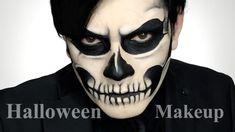 Maquillaje para Halloween calavera