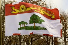Prince Edward Island flag. Planet Pictures, Acadie, Red Sand Beach, Pictures Of Prince, Atlantic Canada, Northwest Territories, True North, Prince Edward Island, Flags Of The World