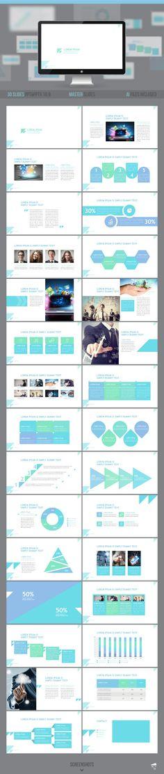 Business Growth Powerpoint Presentation Design Pinterest - business presentation
