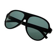 Premium Polarized Anti Glare Lens Large Aviator Sunglasses A1830