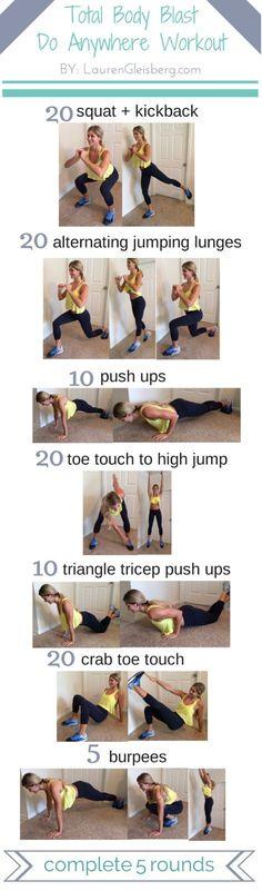 Total Body Workout Circuit -10/1 (via http://Bloglovin.com )