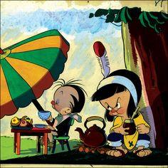 Personejes de Patoruzú Infantil (1947), su creador Daniel Quinteros, Argentina