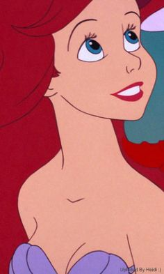 Airel from Disney's The Little Mermaid. I love how Ariel is always curious about the world around her.