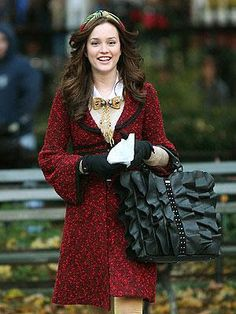 Gossip Girl Blair Waldorf fashion/ style