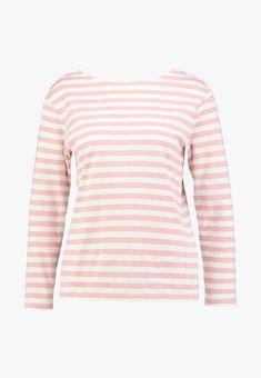 GANT STRIPED - Langarmshirt - summer rose - Zalando.at Baby Tv Show, Models, D1, Tv Shows, Rose, Summer, Sweaters, Fashion, Cotton