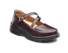 Dr. Comfort Women s Betsy   Free Shipping  amp  Returns Burgundy Shoes,  Women s Mules 7d5bd1a19e4