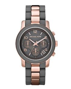 Michael Kors Women's MK5465 Runway Grey Watch-- 33% DISCOUNT & FREE SUPER SAVER SHIPPING for a limited time!--->  http://amzn.to/13F6mHF