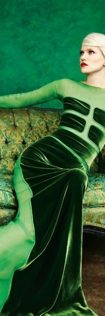 Classic green velvet - Traditional Style - Shades of Green
