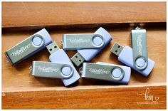 usb with logo for photography