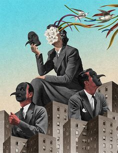 Surreal Collages by Randy Mora | Inspiration Grid | Design Inspiration