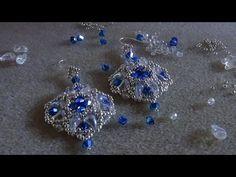 Tutorial orecchini Corazon de mi Vida ( con le zoliduo) - YouTube