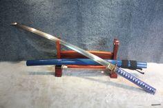 Japanese Sakura Hand Forged Folded Clay Tempered T10 Samurai Katana Sword   http://katanasforsale.com/product/japanese-sakura-hand-forged-folded-clay-tempered-t10-samurai-katana-sword/